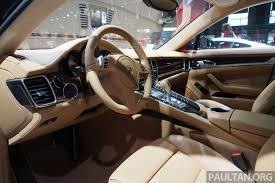 Porsche Panamera Facelift - porsche panamera facelift makes auto shanghai debut long