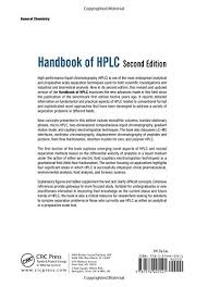 handbook of hplc second edition chromatographic science series