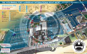 Fort Lauderdale Map Fort Lauderdale Boat Show Archives
