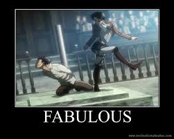 Funny Attack On Titan Memes - aot motivation fabulous by xmaikowolfx on deviantart