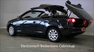 volkswagen cabrio volkswagen eos cabriolet 2007 2 0 fsi highline occasion youtube