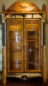 Antique Corner Curio Cabinet Curio Cabinet Rustic Curio Cabinets Best Images On Pinterest