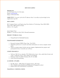 Resume For It Jobs by Profile Title For Fresher Resume Resume For Your Job Application