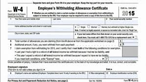 W4 Worksheet Should You Update Your W 4 Cpa Indianapolis Tax Preparation