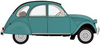teal car clipart clipart 2cv