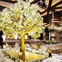 wedding table tree centerpieces artificial cherry blossom tree