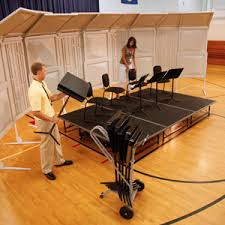 Choir Stands Benches Risers Platforms And Stages Wenger Corporation