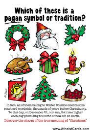 pagan symbols atheist cards