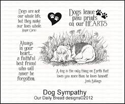 dog condolences our daily bread designs here are the april new releases
