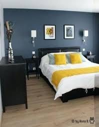 deco chambre gris et jaune chambre bleu et gris le jaune des coussins ensoleille le bleu gris
