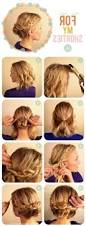 Easy Down Hairstyles For Medium Hair by Updo Hairstyles For Layered Hair Women Medium Haircut