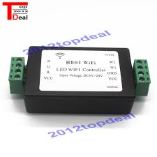 led strip lights wifi controller led strip light l h801 wifi controller android phone wlan control