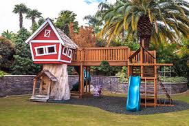 Playground Ideas For Backyard 10 Fun Playgrounds And Treehouses For Your Backyard Munamommy