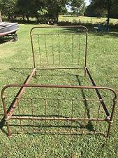 Antique Cast Iron Bed Frame Rot Iron Bed Frame Stunning Bed Vintage White With Rot Iron
