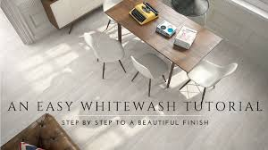 how to whitewash and seal a wood floor diy steps milk paint lime wash antique look you