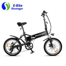 bmw folding bicycle electric mountain bike 26 inch folding frame shuangye ebike