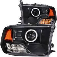 halo headlights for dodge ram 1500 dodge ram 2500 3500 anzo projector headlights halo 111159