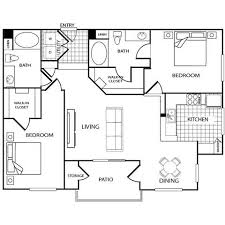 Walk In Closet Floor Plans Floor Plans Of Regents Court Apartments In San Diego Ca