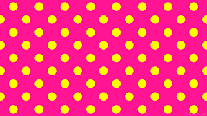 yellow with pink polka dots wallpaper polka pink yellow dots spots ff1493 ffff00 45 80px 169px
