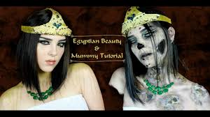Cleopatra Makeup Tutorial Halloween Costume Ideas Youtube Egyptian Beauty And Mummy Makeup Tutorial Halloween 2016 Youtube