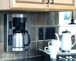 mr coffee under cabinet coffee maker mr coffee under cabinet coffee maker in cabinet coffee maker plumbed