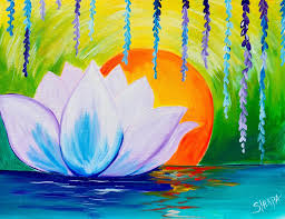 floral art exhibition wallpapers best 25 lotus painting ideas on pinterest lotus drawing pretty