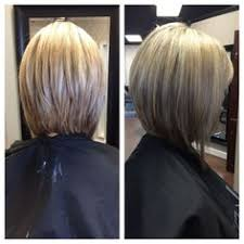 front and back views of chopped hair 20 daily graduated bob cuts for short hair graduated bob