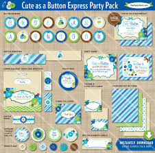 as a button baby shower decorations as a button baby shower decorations printable express party