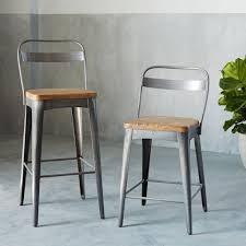 dining room bar furniture xavier bar counter stools west elm decor