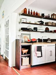 open kitchen cabinets how to go from kitchen cabinets to open shelving martha
