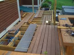how to build a deck in your backyard easy deck building plans