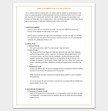 small business plan template 52 images small business