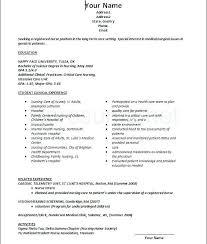 Sample Cover Letter For Registered Nurse Resume Lpn Nursing Resume Template Free Download Registered Nurse New
