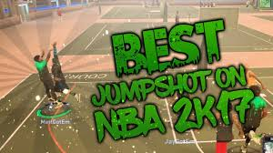 best jumpshot in nba 2k17 green lights for all