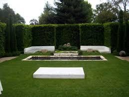 contemporary layered backyard garden tips for shaping the garden