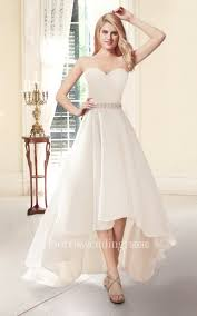 wedding dresses high sweetheart a line high low wedding dress dorris wedding