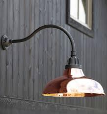 Copper Outdoor Light Fixtures Outdoor Lighting Marvellous Outdoor Gooseneck Light Fixture