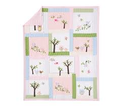 Girls Quilted Bedding by Hayley Quilt Pottery Barn Kids