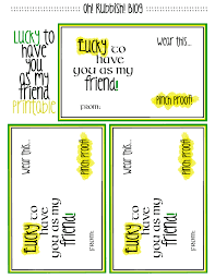 lucky to have you as my friend st patrick day favors lucky