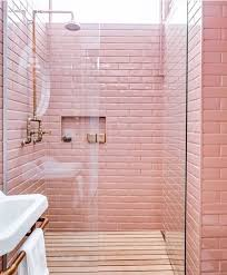 pink tile bathroom ideas best 25 pink bathrooms ideas on pink cabinets pink