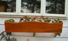 free flower planter box plans free plans for flower planter boxes