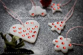 make bling clay ornaments shine crafts