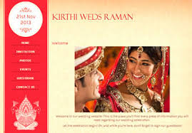 Marriage Invitation Websites Free Designs And Templates Indian Wedding Websites Myshaadi In