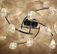 dining room lights ceiling 2018 modern fashion personality glass ceiling light chandelier