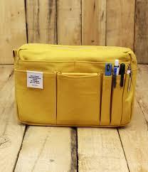 delfonics pouch delfonics canvas pouch medium yellow office nirvana