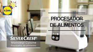 silvercrest cuisine procesador de alimentos monsieur cuisine silvercrest