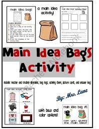 best 25 main idea lessons ideas on pinterest teaching main idea