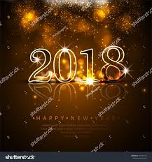 happy new year backdrop happy new year 2018 background stock vector 733784218