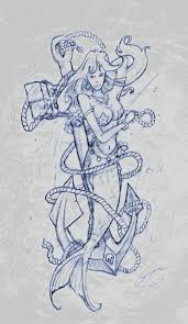 mermaid sketch for tattoo real photo pictures images and