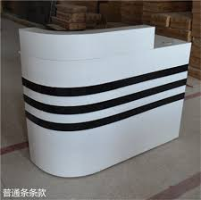 podium style reception desk curved reception corner reception desk image taiwan podium semi